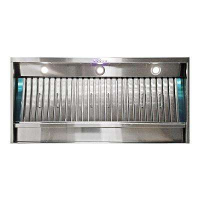 Professional 36 in. Wall Mounted Range Hood 900CFM in Stainless Steel