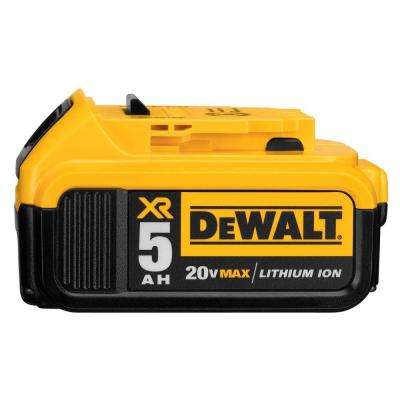 20-Volt MAX Lithium-Ion Premium Battery Pack