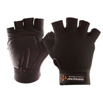 Half-Finger Leather Carpal Tunnel Glove