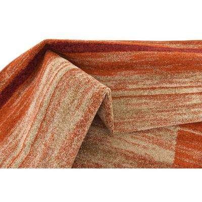 Autumn Foilage Terracotta 8' 0 x 10' 0 Area Rug