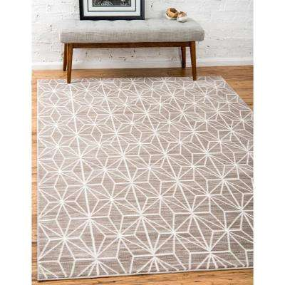 Uptown Collection by Jill Zarin™ Fifth Avenue Brown 8' 0 x 10' 0 Area Rug