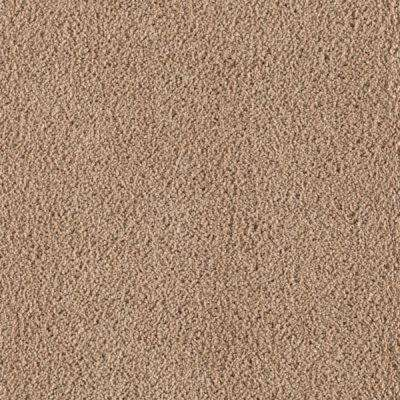 Carpet Sample - Wesleyan II - Color Fired Clay Texture 8 in. x 8 in.