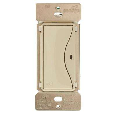 Aspire RF Accessory Switch for RF9501 Wireless Light Switches, Desert Sand