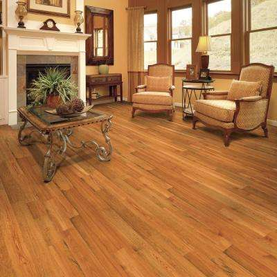 Heart Pine Amber 1/2 in. T x 5-1/8 in. W x Random Length Engineered Hardwood Flooring (41.70 sq. ft. / case)