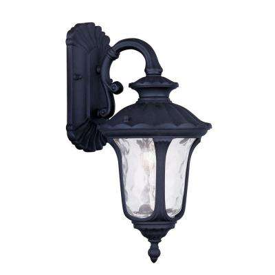Providence Wall-Mount 1-Light Outdoor Black Incandescent Lantern