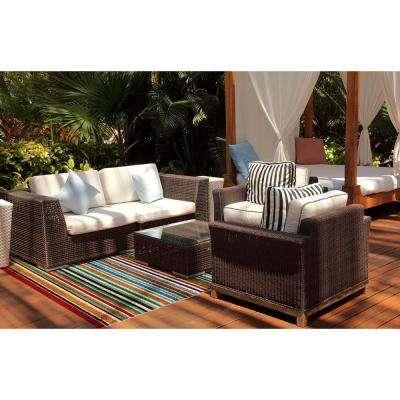 Patio Brights Santee Multi 7 ft. x 10 ft. Indoor/Outdoor Area Rug
