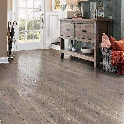 Revolutionary Rustics White Oak Greige 1/2 in. T x 7-1/2 in. W x Varying L Engineered Hardwood Flooring (25.7 sq.ft.)