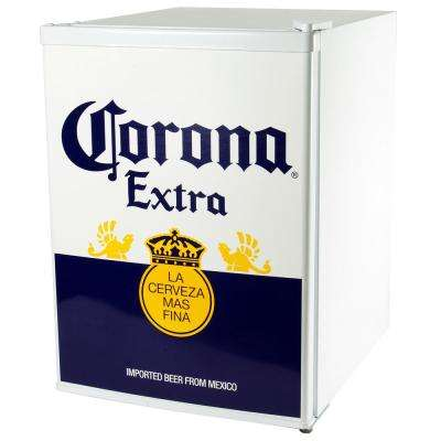 2.4 cu. ft. Corona Mini Refrigerator in White
