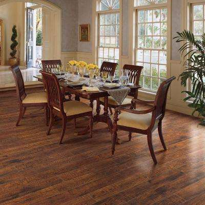 XP Hand Sawn Oak 10 mm Thick x 4-7/8 in. Wide x 47-7/8 in. Length Laminate Flooring (641.9 sq. ft. / pallet)