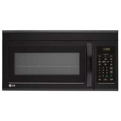 1.8 cu. ft. Over the Range Microwave in Smooth Black