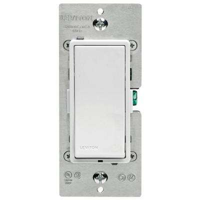 Decora Z-Wave Controls 15 Amp Scene Capable Switch, White/Ivory/Light Almond