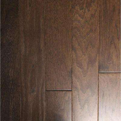 Wire Brushed Black Bison Hickory 3/4 in. T x 3-1/4 in. W x Random Length Solid Hardwood Flooring (22.5 sq. ft. / case)