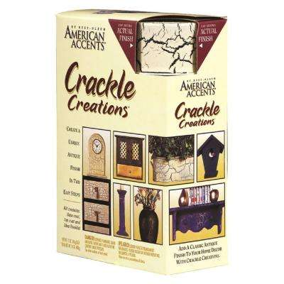 Antiqued Ivory Crackle Creations Kit (3-Pack)