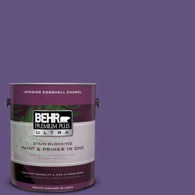 Home Decorators Collection 1-gal. #HDC-MD-25 Virtual Violet Eggshell Enamel Interior Paint