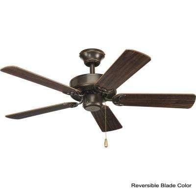 AirPro Builder 42 in. Indoor Antique Bronze Rustic Ceiling Fan