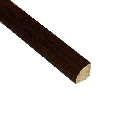 Strand Woven Walnut 3/4 in. Thick x 3/4 in. Wide x 94 in. Length Bamboo Quarter Round Molding