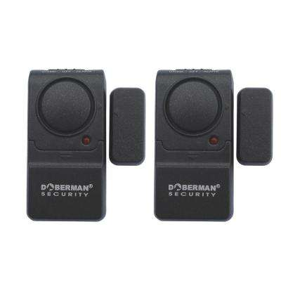 Home Security Mini Entry Defender with Chime (2 Pack)