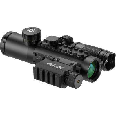4x30 IR Electro Sight with Green Laser and Flashlight