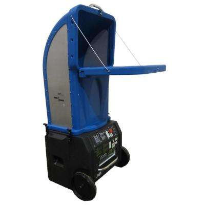 FiberForce - Wireless Fiberglass/Cellulose Insulation Blower with Tall Removable Hopper