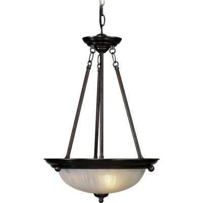 Marti 3-Light Antique Bronze Interior Pendant