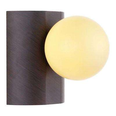 Neso 1-Light Antique Brown Wall/Ceiling Flushmount