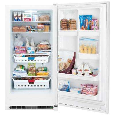 20.5 cu. ft. Frost Free Upright Freezer Convertible to Refrigerator in White