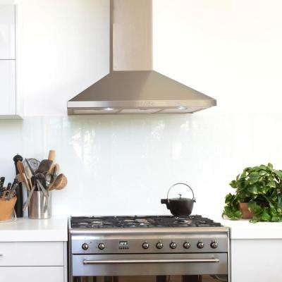 30 in. Wall Mount Range Hood in Stainless Steel