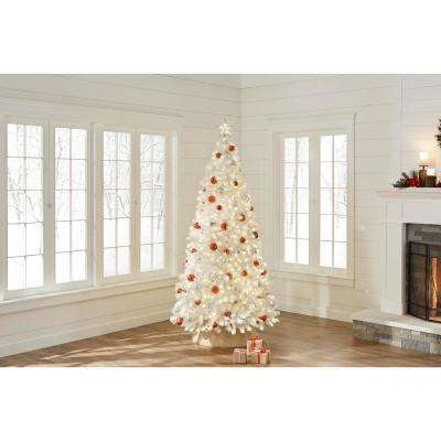 7.5 ft. Pre-Lit LED Color Changing Artificial Christmas Tree with 700 Micro Dot Lights