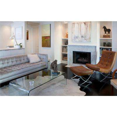 Kobe Natural and Light Grey 6 ft. x 7 ft. Cowhide Rug