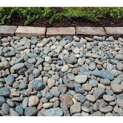 10 cu. ft. Creek Stone Assorted Decorative Stone - (1 Bag/10 cu. ft./Pallet)