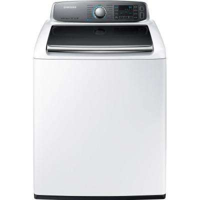 5.6 cu. ft. High-Efficiency Top Load Washer with Steam in White, ENERGY STAR