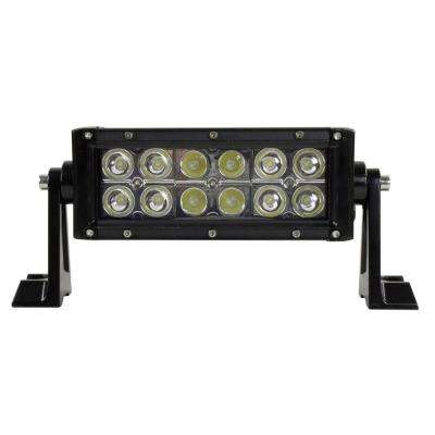 LED 7 in. Off-Road Light Bar with Spot and Flood Beam Pattern