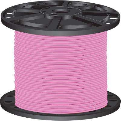 2,500 ft. 10-Gauge Pink Stranded CU SIMpull THHN Wire