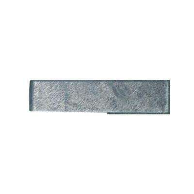 Moon Dust Glass Mosaic Floor and Wall Tile - 2 in. x 8 in. x 8 mm Tile Sample