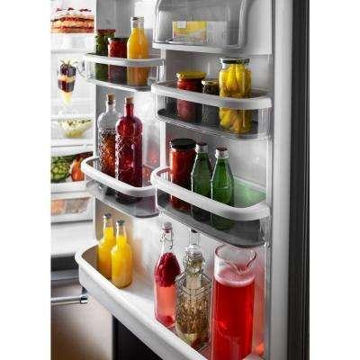 22 cu. ft. Bottom Freezer Refrigerator in Stainless Steel