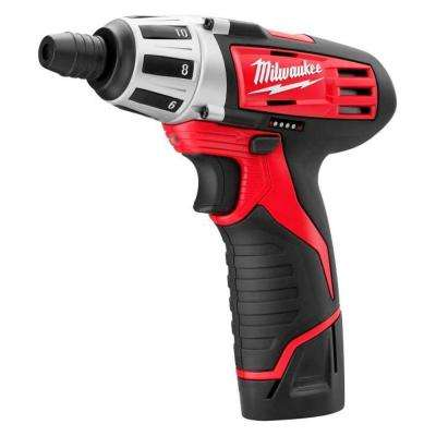 Reconditioned M12 12-Volt Lithium-Ion 1/4 in. Cordless Hex Screwdriver