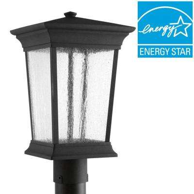 Arrive Collection 1-Light Black LED Post Lantern