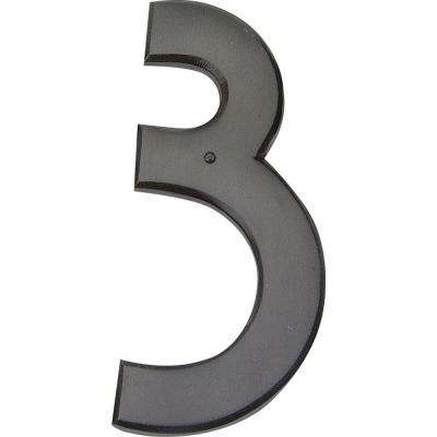 Mission Collection 5-1/2 in. Aged Bronze Number 3