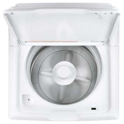 3.8 cu. ft. White Top Load Washing Machine with Stainless Steel Tub