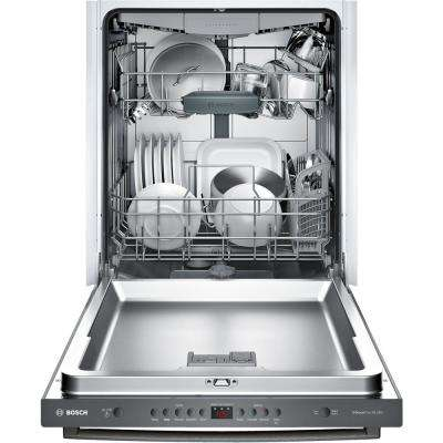 100 Series Top Control Tall Tub Dishwasher in Black Stainless Steel with Hybrid Stainless Steel Tub and 3rd Rack, 48dBA