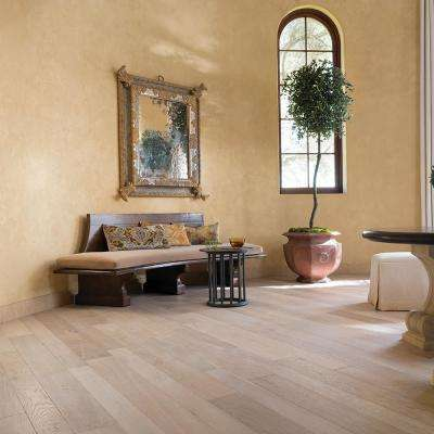 French Oak Santa Monica 1/2 in. T x 5 and 7 in. W x Varying Length Engineered Hardwood Flooring (24.93 sq. ft./case)
