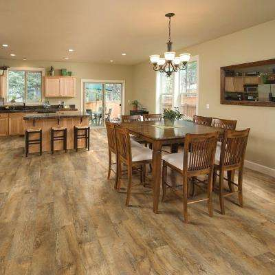 Trail Oak Beige and Grey 8 in. x 48 in. Luxury vinyl plank flooring (18.22 sq. ft. / case)