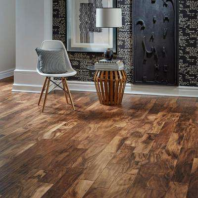 Hand Scraped Natural Acacia 1/2 in. T x 5 in. W x Varying Length Engineered Exotic Hardwood Flooring (26.25 sq.ft./case)