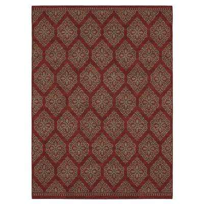 Taurus Ruby Russet 10 ft. x 13 ft. Area Rug