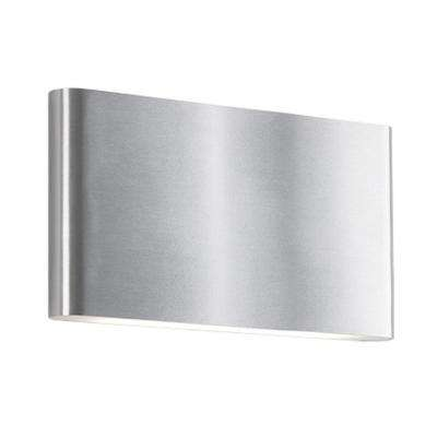 Naperville 60-Watt Equivalence Brushed Nickel Integrated LED Sconce