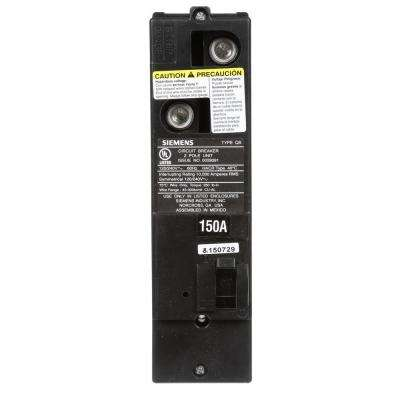 150 Amp Double-Pole 10kA Type QS Multi-Family Main Breaker