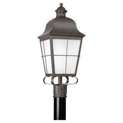 Chatham 1-Light Outdoor Oxidized Bronze Post Top