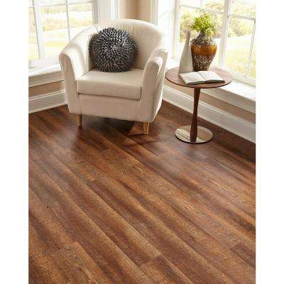 Ottoman Oak 7.20 in. Width x 60 in. Length Floating Vinyl Plank Flooring (18.01 sq. ft/case)