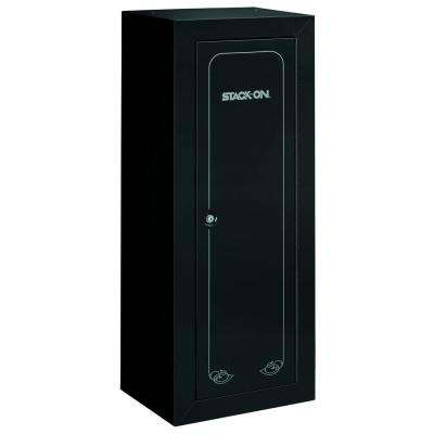 New 22-Gun Security Cabinet with Foam Barrel Rests, Black