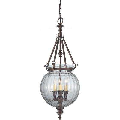 Luminary 3-Light Oil Rubbed Bronze Hall Chandelier